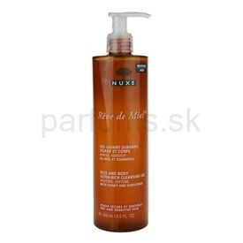 Nuxe Reve de Miel čistiaci gél pre suchú pokožku (Face and Body Ultra-Rich Cleansing Gel) 400 ml cena od 9,56 €