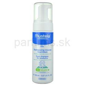 Mustela Bébé Bain penový šampón pre deti (Foam Shampoo) 150 ml