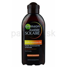 Garnier Ambre Solaire olej na opaľovanie SPF 2 (Huile Bronzante Intense) 200 ml