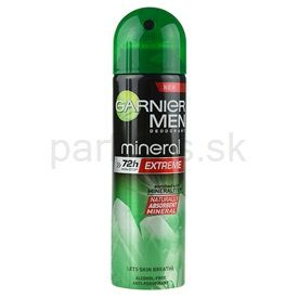 Garnier Men Mineral Extreme antiperspirant v spreji 72h (Enriched with Mineralite) 150 ml cena od 2,80 €