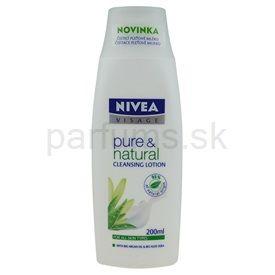 Nivea Visage Pure & Natural čistiace pleťové mlieko (Cleansing Milk) 200 ml