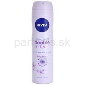 Nivea Double Effect antiperspirant v spreji 48h (Violet Senses) 150 ml