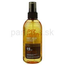 Piz Buin Wet Skin sprej na opaľovanie SPF 15 (Transparent Sun Spray) 150 ml