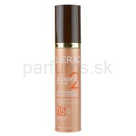 Lierac Sunific 2 krém na opaľovanie proti vráskam SPF 15 (Melt-in Cream, Tan Activating - Anti-wrinkle, Anti-brown Spot) 50 ml