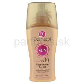 Dermacol Sun Water Resistant vodeodolné mlieko na opaľovanie SPF 10 (Water Resistant Sun Spray Milk) 200 ml