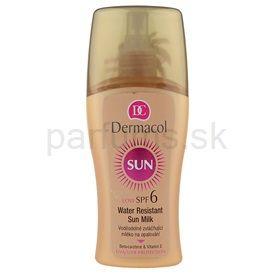 Dermacol Sun Water Resistant vodeodolné mlieko na opaľovanie SPF 6 (Water Resistant Sun Spray Milk) 200 ml