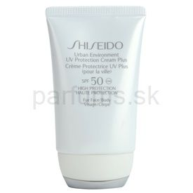 Shiseido Urban Environment ochranný krém SPF 50 (UV Protection Cream Plus for Face and Body) 50 ml