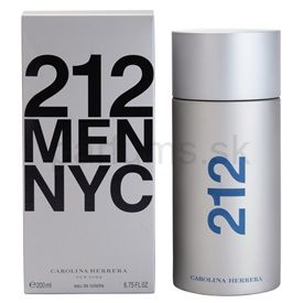 Carolina Herrera 212 Men toaletná voda pre mužov 200 ml