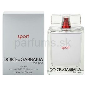 Dolce & Gabbana The One Sport for Men toaletná voda pre mužov 150 ml