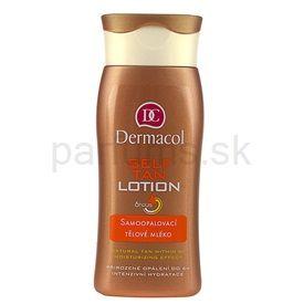 Dermacol Self Tan samoopaľovacie telové mlieko (Self Tan Lotion) 200 ml