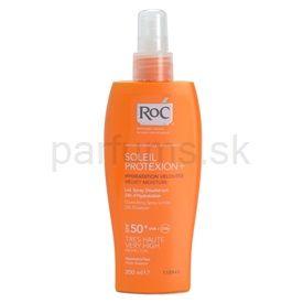 RoC Soleil Protexion+ sprej na opaľovanie SPF 50+ (Quenching Spray lotion - 24h Moisture) 200 ml
