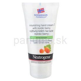 Neutrogena NordicBerry výživný krém na ruky (Nourishing Hand Cream) 75 ml