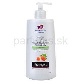Neutrogena NordicBerry výživné telové mlieko pre suchú pokožku (Nourishing Body Lotion) 400 ml