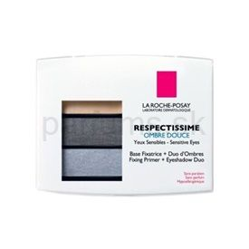 La Roche-Posay Respectissime Respectissime Ombre Douce očné tiene odtieň 01 Gris (Ombre Douce) 1,5 g