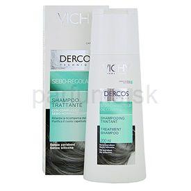 Vichy Dercos Sebo Correcteur šampón pre rýchlo sa mastiace vlasy (Oil Control Treatment Shampoo) 200 ml