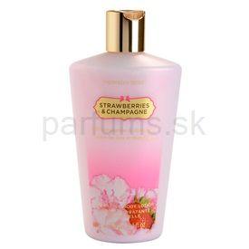 Victoria's Secret Strawberry & Champagne telové mlieko pre ženy 250 ml
