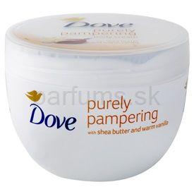 Dove Purely Pampering Shea Butter telový krém bambucké maslo a vanilka (Body Cream) 300 ml