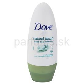 Dove Natural Touch guličkový antiperspirant 48h (Anti-perspirant Deodorant) 50 ml