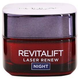 L'Oréal Paris Revitalift Laser Renew nočný krém proti starnutiu pleti (Anti-Ageing Cream-Mask) 50 ml