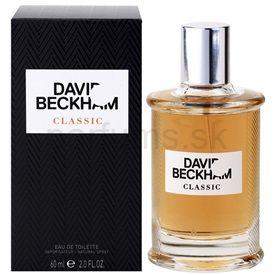 David Beckham Classic toaletná voda pre mužov 60 ml