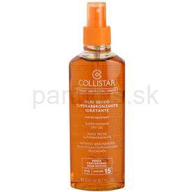 Collistar Speciale Abbronzatura Perfetta olej na opaľovanie SPF 15 (Supertanning Dry Oil) 200 ml