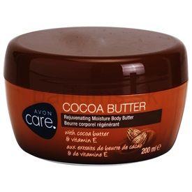 Avon Care omladzujúci hydratačný telový krém s kakaovým maslom a vitamínom E (Cocoa Butter Rejuvenating Moisture Body Butter) 200 ml