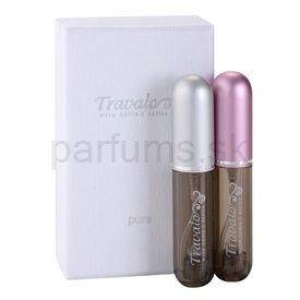 Travalo Pure Take Pink darčeková sada I. plniteľný rozprašovač parfémov 2x