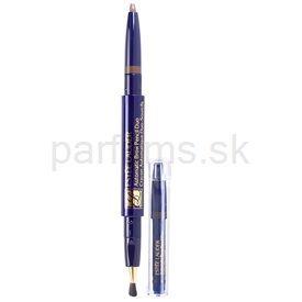 Estee Lauder Estée Lauder Automatic ceruzka na obočie so štetcom a náplňou odtieň 05 Soft Brown (Brow Pencil Duo With Brush and Refill) 0,2 g cena od 0,00 €