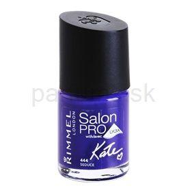Rimmel Salon Pro By Kate lak na nechty s lycrou odtieň 444 Seduce 12 ml