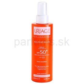 Uriage Bariésun sprej na opaľovanie bez parfumácie SPF 50+ (Water Resistant) 200 ml