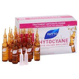 Phyto Phytocyane revitalizačné sérum proti vypadávániu vlasov Anti-Thinning Hair Treatment (Thinning Hair Women) 12 pcs