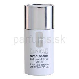 Clinique Even Better Dark Spot Defense tónovací ochranný krém proti slnečnému žiareniu a pigmentovým škvrnám 01 Sheer Tint (SPF 45) 30 ml