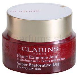 Clarins Multi - Intensive denný protivráskový krém pre veľmi suchú pleť (Illuminating Lifting Replenishing Cream) 50 ml