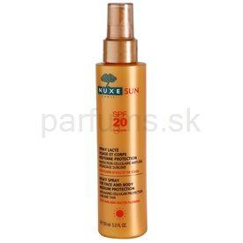 Nuxe Sun sprej na opaľovanie na tvár a telo SPF 20 (Anti-Aging Cellular Protection) 150 ml