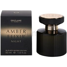 Oriflame Amber Elixir Night parfémovaná voda pre ženy 50 ml
