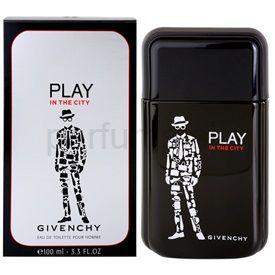 Givenchy Play In the City toaletná voda pre mužov 100 ml cena od 0,00 €
