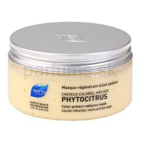 Phyto Phytocitrus rozjasňujúca maska pre farbené vlasy (Color Protect Radiance Mask) 200 ml