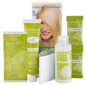 Garnier Color Naturals Creme farba na vlasy odtieň E0 Super Blonde 4 pcs