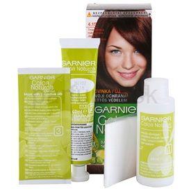 Garnier Color Naturals Creme farba na vlasy odtieň 4.15 Dark Mahogany 4 pcs