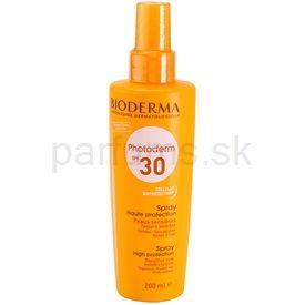 Bioderma Photoderm sprej na opaľovanie SPF 30 (Sun Spray Sensitive Skin) 200 ml