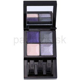 Givenchy Le Prisme paleta očných tieňov so zrkadielkom odtieň 72 Midnight Look (Yeux - Quatuor Colors, Light & Design For Eyes 4 Colors) 4 x 1 g cena od 0,00 €