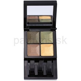 Givenchy Le Prisme paleta očných tieňov so zrkadielkom odtieň 74 Khaki Egerie (Yeux - Quatuor Colors, Light & Design For Eyes 4 Colors) 4 x 1 g cena od 0,00 €