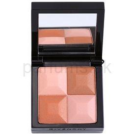 Givenchy Le Prisme púdrová lícenka so štetčekom odtieň 26 Fashionitsa Brown (Powder Blush - Radiant Color 4 Colors) 7 g cena od 0,00 €