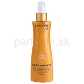Lancome Soleil Bronzer opaľovacie mlieko SPF 30 (Smoothing Protective Milk-mist Luminous and Even Tan) 200 ml