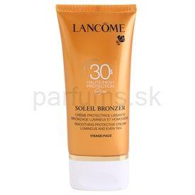 Lancome Soleil Bronzer opaľovací krém na tvár SPF 30 (Smoothing Protective Cream Luminous and Even Tan for Face) 50 ml