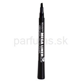Bourjois Mega Liner fixa na očné linky odtieň Dark Black 01 (Extra Large Flick - Very Long-Lasting) 0,8 ml