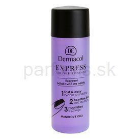 Dermacol Express odlakovač na nechty bez acetónu (Nail Polish Remower) 120 ml