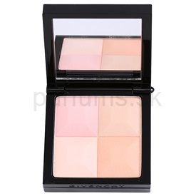 Givenchy Le Prisme kompaktný púder so štetčekom odtieň 83 Peach Plumetis (Visage - Mat Soft Compact Face Powder - Natural Result 4 Colors) 11 g cena od 0,00 €