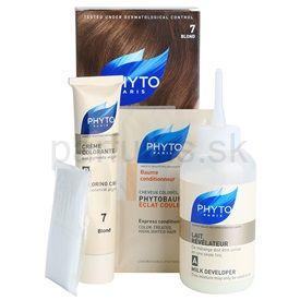 Phyto Color farba na vlasy 7 Blond 4 pcs