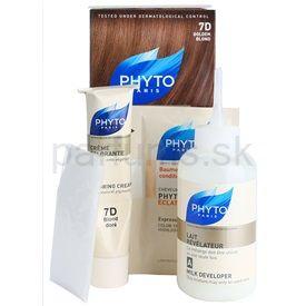 Phyto Color farba na vlasy 7D Golgen Blond 4 pcs
